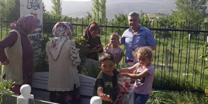 Ermenek'te Maden Şehitleri Ziyaret Edildi