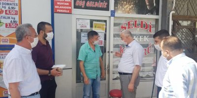 AK Parti İl Yönetiminden Berberlere Ziyaret