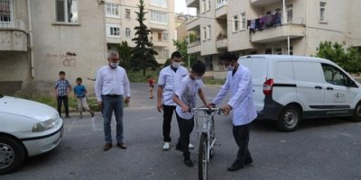 Niğdeli Ömer'in Bisiklet Hayali Gerçek Oldu