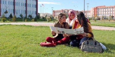 KMÜ'de Türkçe Öğretmenliği Bölümünde Öğrenci Heyecanı