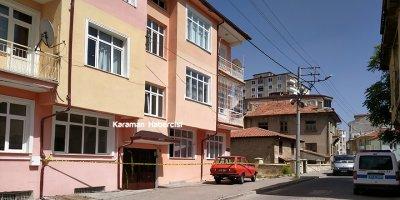 Karaman'da Korona Virüs Dolayısıyla Bir Binada Daha Karantina Kararı Alındı