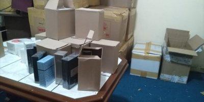 Antalya'da 22 Bin 201 Şişe Kaçak Parfüm Ele Geçirildi