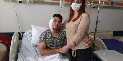 Yaralı Postacı Konya'da Tedavi Altında