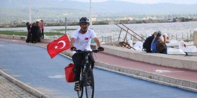 Dostlarına Vefa İçin Bisikletiyle Yollarda