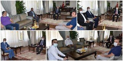 Mehmet Alpaslan Işık'a Hayırlı Olsun Ziyaretleri