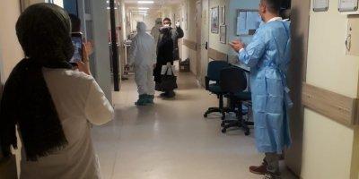 Hadim'de Kovid-19 Tedavileri Tamamlanan 4 Kişi Taburcu Edildi