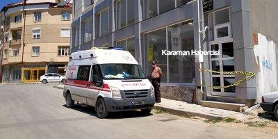 Karaman'da Bir Binada Koronavirüs Şüphesi