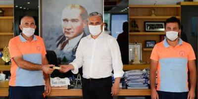 Antalya'da Temizlik İşçilerinden Örnek Davranış