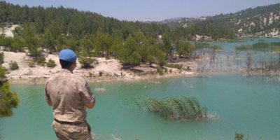 Mersin'de Yaşlı Kadın Dronla Aranıyor