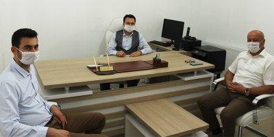 CHP Karaman Teşkilatından Karaman Habercisi'ne Ziyaret