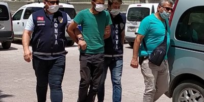 Konya'da gözaltına alınan cinayet zanlısı çözüldü