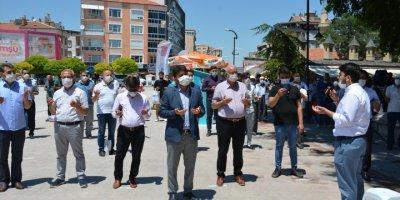 """Karaman Kent Meydanında """"Ayasofya"""" İçin Şükür Duası"""