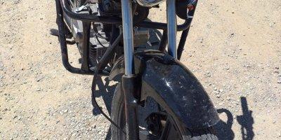 Konya'da uçuruma devrilen motosikletin sürücüsü hayatını kaybetti