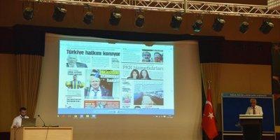 """KMÜ'de """"Türk Basınında 15 Temmuz"""" Konferansı"""