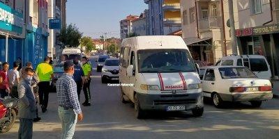 Karaman'da Bir Anda Yola Fırlayan Çocuk Ölümden Döndü