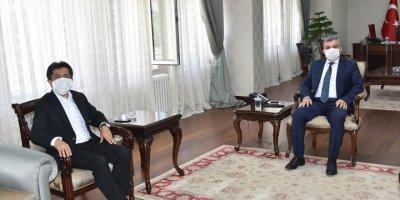 Sağlam'dan Karaman Valisi Işık'a Ziyaret