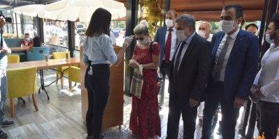 Karaman'da Koronavirüs Tedbirleri Denetlendi