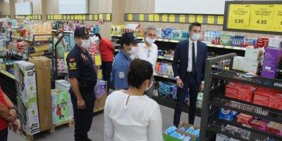 Ayrancı'da Kovid-19 Tedbirleri Denetimi Yapıldı