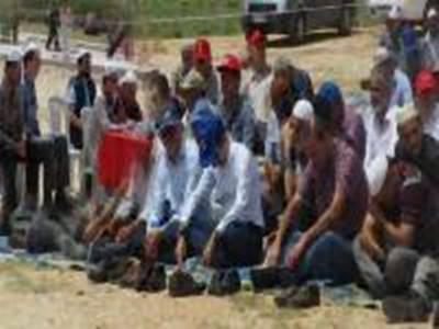 Kazımkarabekir'de Yağmur Duası Yapıldı