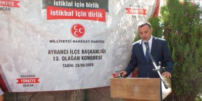 MHP Ermenek ve Ayrancı İlçe Kongreleri Tamamlandı