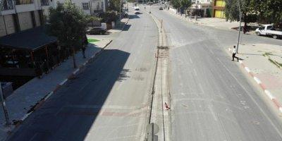 Karaman Belediyesi Ekiplerinin Cadde ve Kavşak Düzenlemeleri