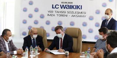 Aksaray'da 5 Bin Kişiyi İstihdam Edecek Fabrika İçin Arsa Tahsisi Yapıldı