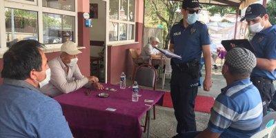 Derebucak'ta Polisten Koronavirüs Denetimleri