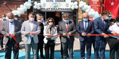Kültür Ve Turizm Bakan Yardımcısı Yavuz, Aksaray'daki Millet Kıraathanesinin Açılış Törenine Katıldı