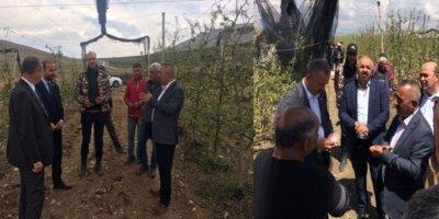 Niğde'de Ürünleri Doludan Zarar Gören Çiftçiye 6 Milyon Lira Ödenek