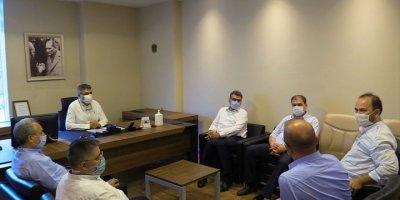 Erdem Ve Akkaya'dan Sağlık Çalışanlarına Ziyaret