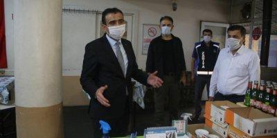 Karaman'da Başkan Kalaycı'nın Korona Virüs Denetimleri