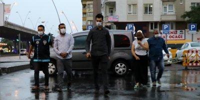 Kayseri'de Hırsızlık Operasyonunda Yakalanan 4 Zanlıdan 3'ü Tutuklandı