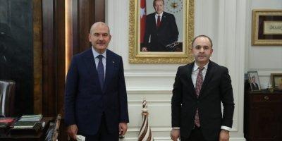 TPF Heyetinden İçişleri Bakanı Soylu'ya Ziyaret