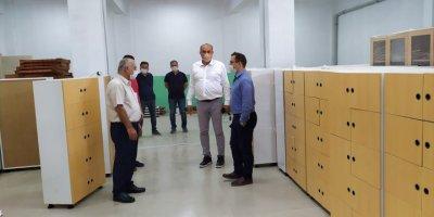 Kaymakam Temel Ayca'dan Fatih Mesleki Ve Teknik Anadolu Lisesini Ziyaret