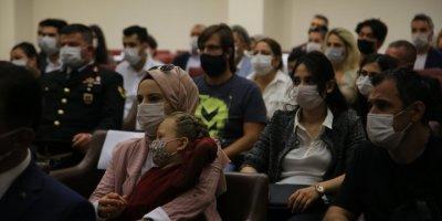 Antalya'da Devlet Övünç Madalyası Ve Beratı Tevcih Töreni