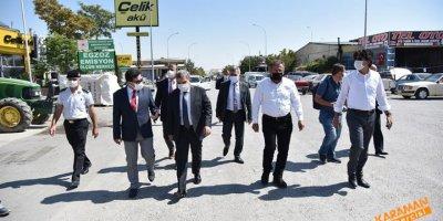 Karaman'da Sanayi Esnafı Denetlendi