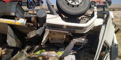 Trafik Canavarı Karaman'da Bir Can Aldı