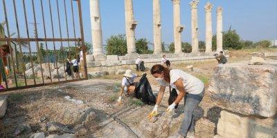 Soli Pompeiopolis Antik Kenti'nden Toplanan Çöpler Sergilendi