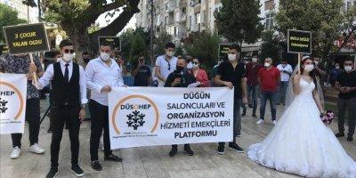 Mersin'de Düğün Sektörü Kovid-19 Kısıtlamalarının Kaldırmasını İstiyor