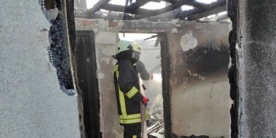 Kulu'da Çıkan Yangında Müstakil Ev Kullanılmaz Hale Geldi
