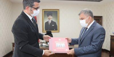 Anadolu Ajansından Karaman Valisi Mehmet Alpaslan Işık'a Ziyaret