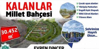 Aksaray'a Millet Bahçesi Yapılacak