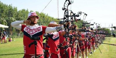 Rusya Okçuluk Milli Takımı Antalya'da Kamp Yapıyor