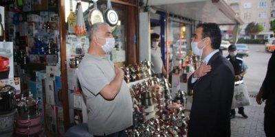 Karaman Belediye Başkanı Kalaycı Covid-19 Tedbirlerini Denetledi