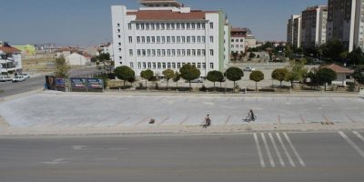 Karaman Belediyesinden 2.Toki Evleri Civarında Yeni Otopark
