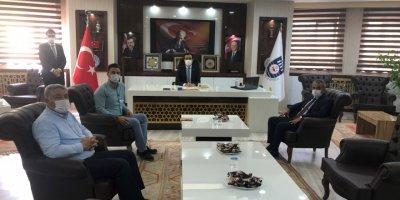 Halk Bankası'ndan Başkan Kalaycı'ya Ziyaret
