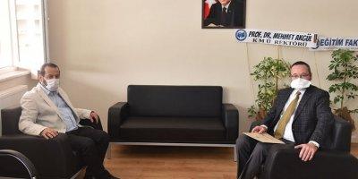 Rektör Akgül'den Yeni Dekana Tebrik