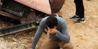 Antalya'da Devrilen Otomobilin Sürücüsü Öldü