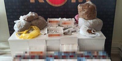 Mersin'de Kaçakçılık Ve Uyuşturucu Operasyonu: 4 Gözaltı