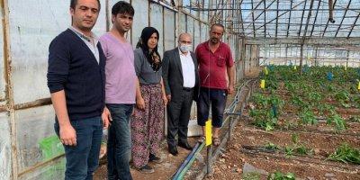 Fırtına Ve Doludan Zarar Gören Çiftçilere Destek